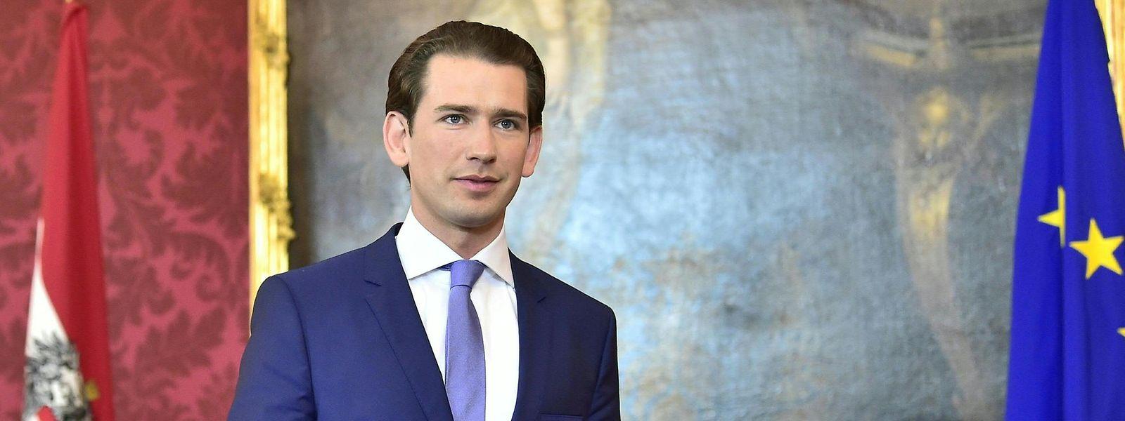 Sebastian Kurz strebt nach dem Enthüllungsskandal die absolute Mehrheit im österreichischen Parlament an.