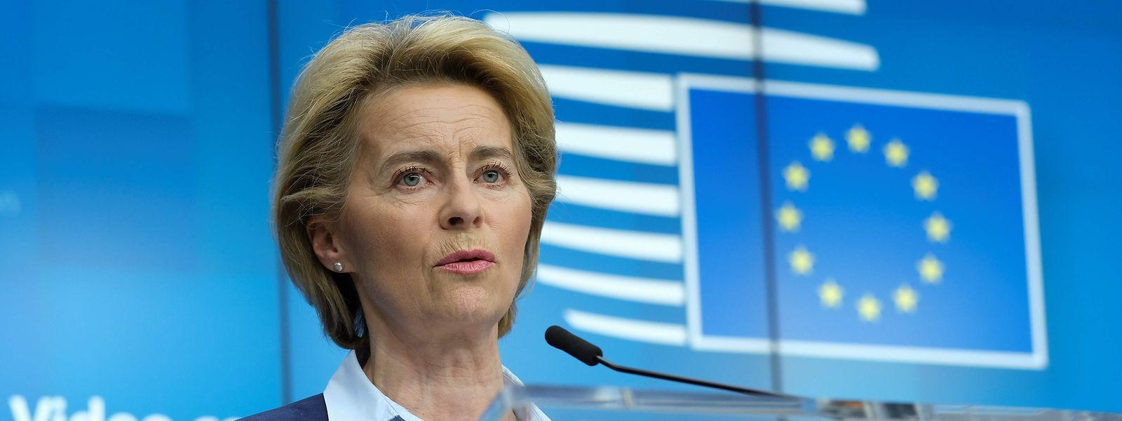 Ursula von der Leyen, la présidente de la Commission se lancera dans un exercice particulièrement périlleux ce mercredi, avec la solidarité européenne en toile de fond