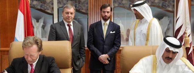 En 2011, le Luxembourg signe une convention financière avec l'Emirat du Golfe.