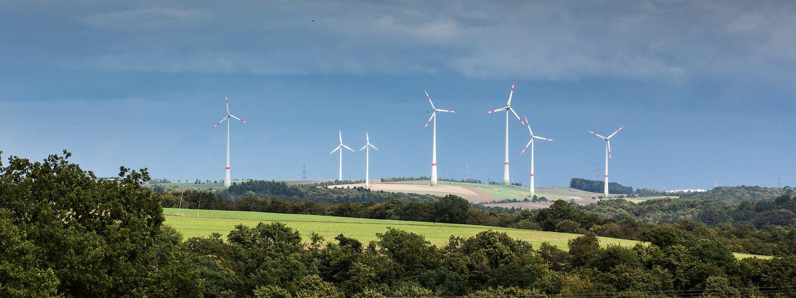 Die Windräder bei Mompach und Born sind die bislang einzigen im Müllerthal. Fünf weitere sollen dazukommen – mit einem Rotordurchmesser von 140 Metern.