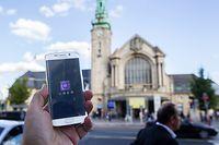 29.9. Gare / Uber will nach Luxemburg Foto:Guy jallay