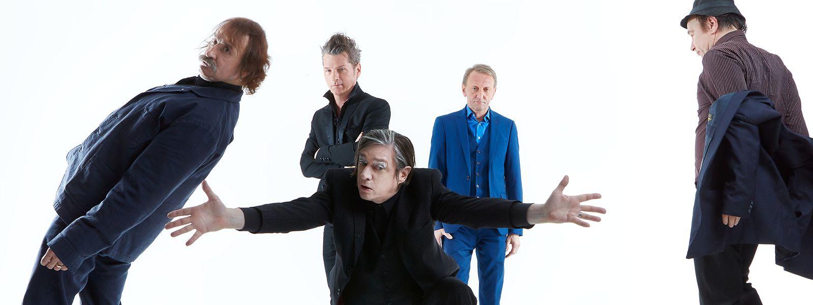 """Das Cover des Albums """"Alles in Allem"""" der Band Einstürzende Neubauten."""