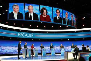 Les 7 candidats à la primaire de droite ont débattu durant 2h15 hier soir sur TF1
