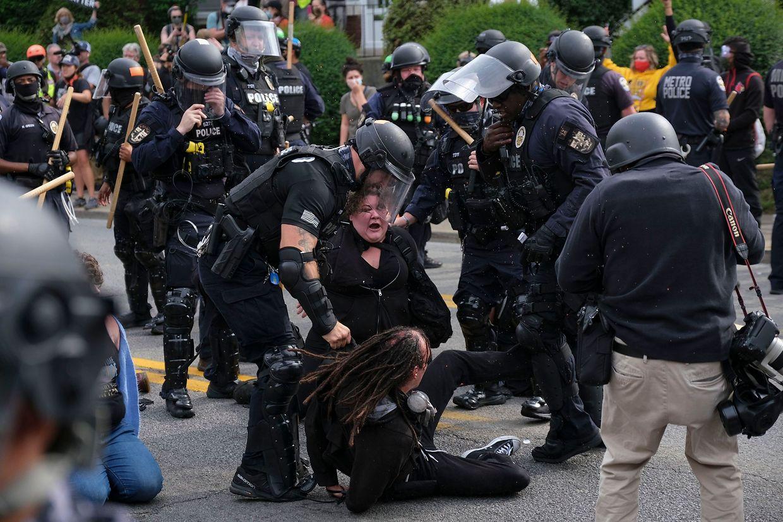 Proteste in Louisville.