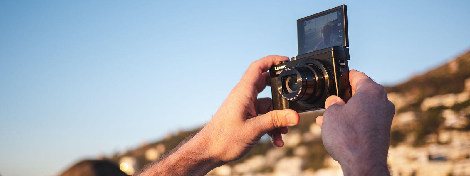 Mini-Kamera mit Maxi-Zoom – so das Motto der Panasonic Lumix DC-TZ96. Die Kamera ist mit einem 30-fachen Zoom ausgestattet, der selbst weit entfernte Motive formatfüllend heranholt.