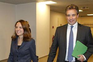 16.10. Min Famille / PK Claude Meisch u. Corinne Cahen / Familienpolitik u. Sparmassnahmen Foto: Guy Jallay