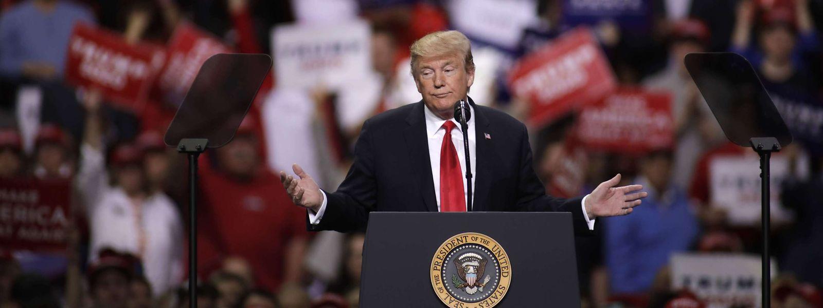 26 falsche oder irreführende Behauptungen kamen in den vergangenen sieben Monaten aus dem Mund des Präsidenten - pro Tag, wohlgemerkt.