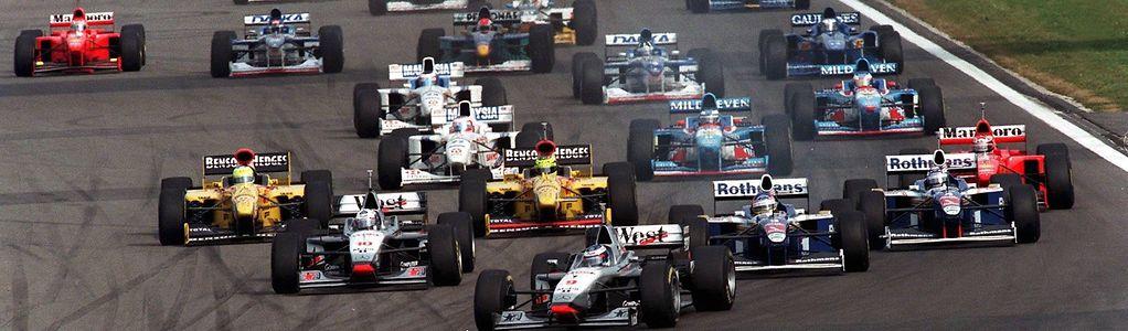 Mika Häkkinen startete 1997 von der Pole-Position.