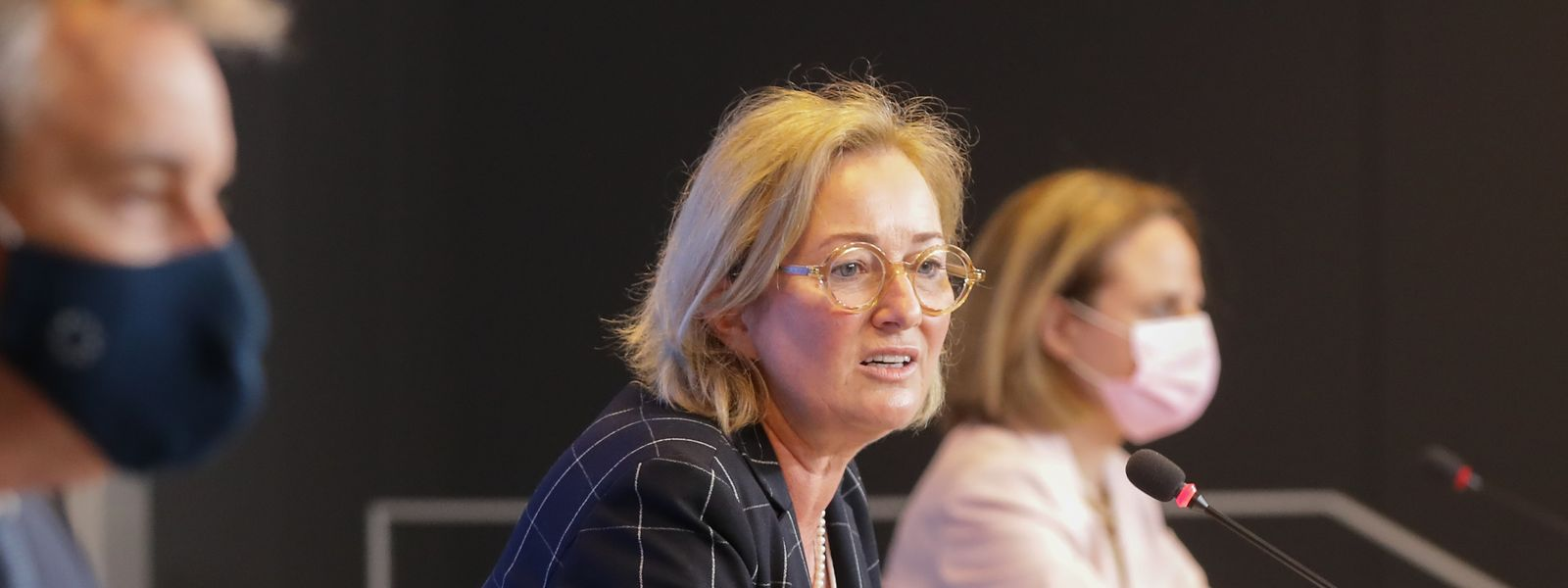 Claude Meisch, Paulette Lenert et Corinne Cahen ont présenté les nouvelles formations. La première débutera à l'automne 2022.