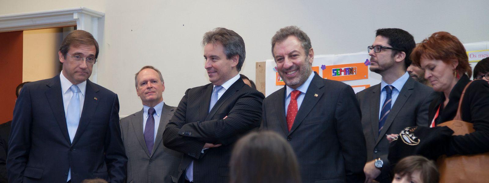 A escola do Brill, em Esch, foi visitada por Pedro Passos Coelho, no mês passado. Na ecola do Brill há alunos que têm aulas em português