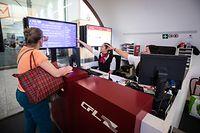 Lokales,CFL-Zugpersonal,Ticketverkauf,Schaffner, Bahnhof,Gare.Foto; Gerry Huberty/Luxemburger Wort