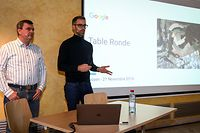 WI,PK Google Project Luxembourg.Fabien Vieau , Frederic Descamps,.Foto: Gerry Huberty/Luxemburger Wort