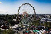 Lokales, online, Schueverfouer 2019,Aufbauarbeiten, letzter Schliff, Vorbereitungen auf Hochtouren  Foto: Anouk Antony/Luxemburger Wort