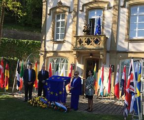 Europa feiert im Geburtshaus von Robert Schuman in Clausen