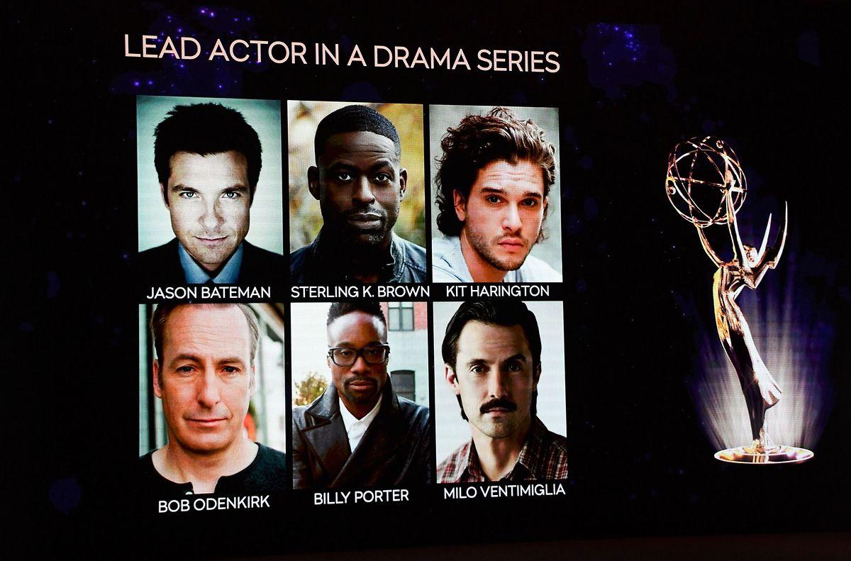"""""""Game of Thrones""""-Darsteller Kit Harington (o.r.) ist als bester Hauptdarsteller in einer Drama-Serie nominiert."""