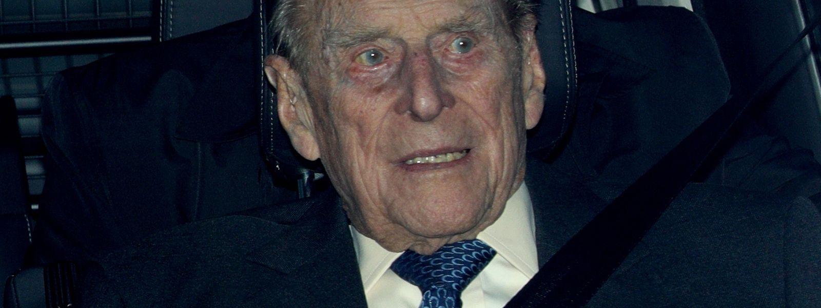 Prinz Philip fährt mit 97 noch selber.