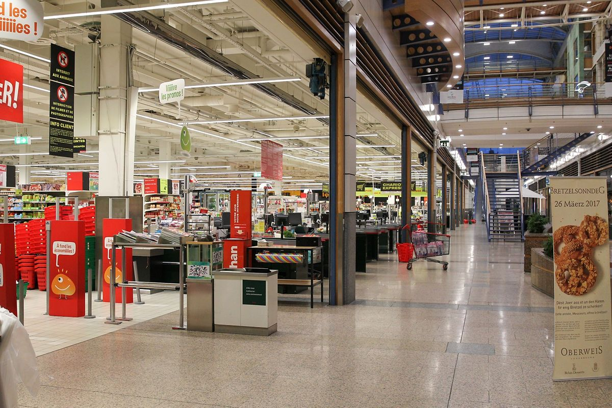 Auchan hypermarkets in Kirchberg and Cloche d'Or Photo: Gerry Huberty