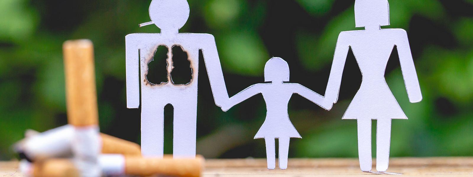 Die chronisch obstruktive Lungenerkrankung tritt in erster Linie bei starken Rauchern auf.