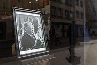 Lokales Schaufenster mit Foto von Grand-Duc Jean, Foto: Lex Kleren/Luxemburger Wort