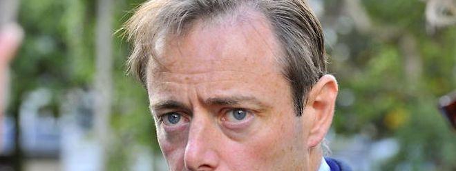 Bürgermeister Bart De Wever: Sicherheitsperimeter eingerichtet.