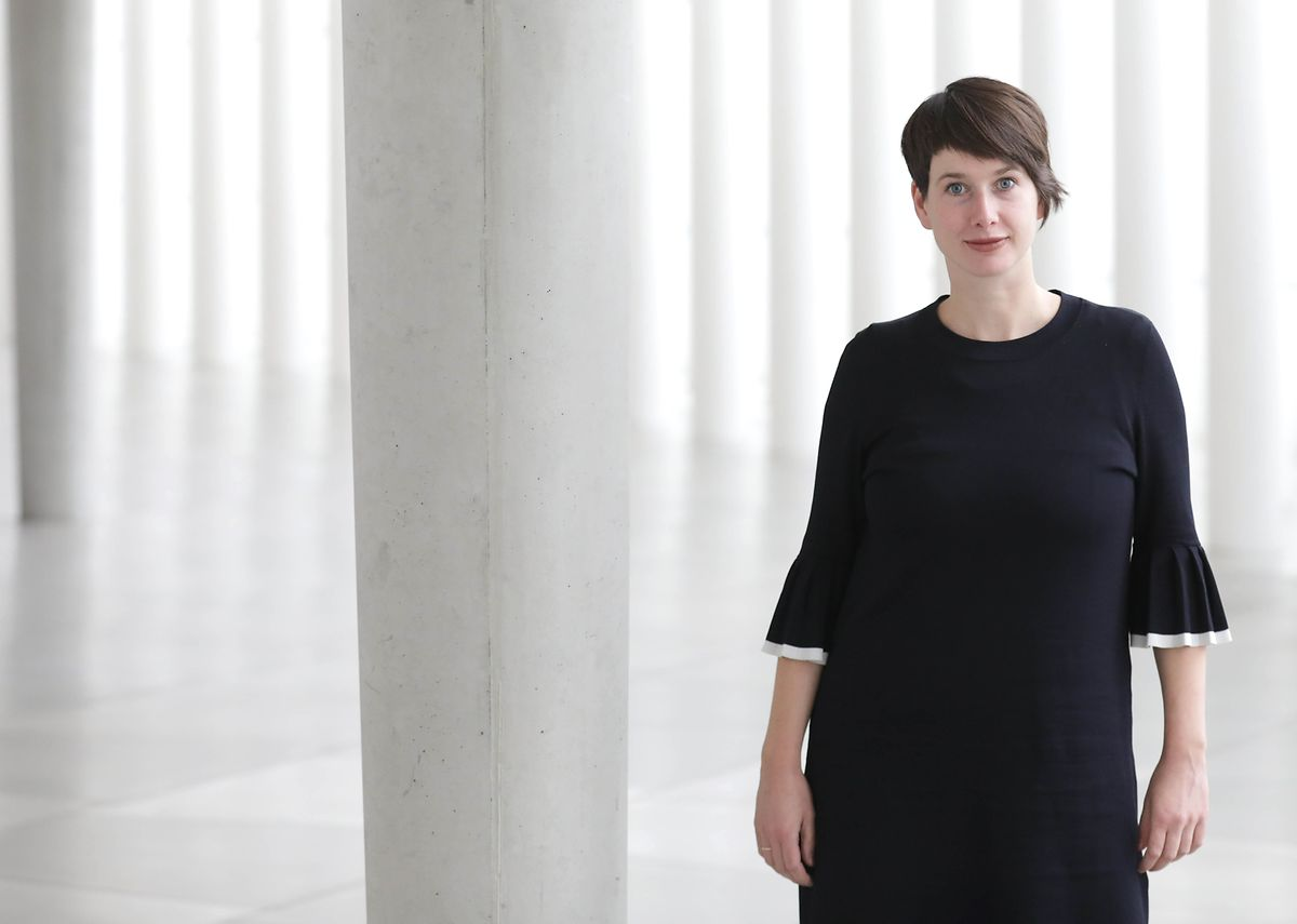 Lydia Rilling, programadora do festival 'Rainy Days', onde se inserem as performances do Red Bridge Project que a Philharmonie acolhe este ano.