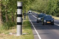 Lokales,Streckenradar Waldhof-Gonderange N11.Foto: Gerry Huberty/Luxemburger Wort