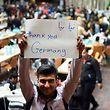 Erste Teile der angekommenen Flüchtlinge wurden bereits in andere deutsche Bundesländer wie hier nach Dortmund verteilt