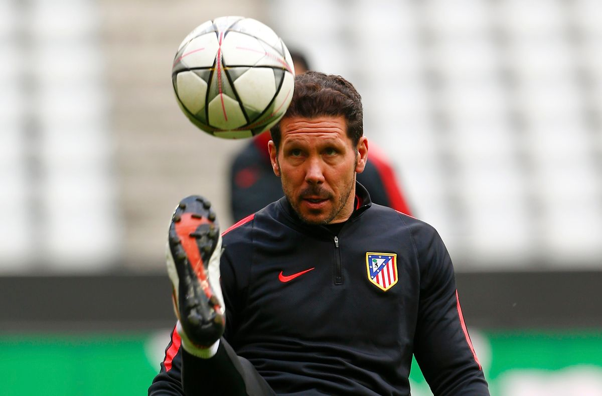 Diego Simeone (Atletico Madrid) ist ein begnadeter Trainer.