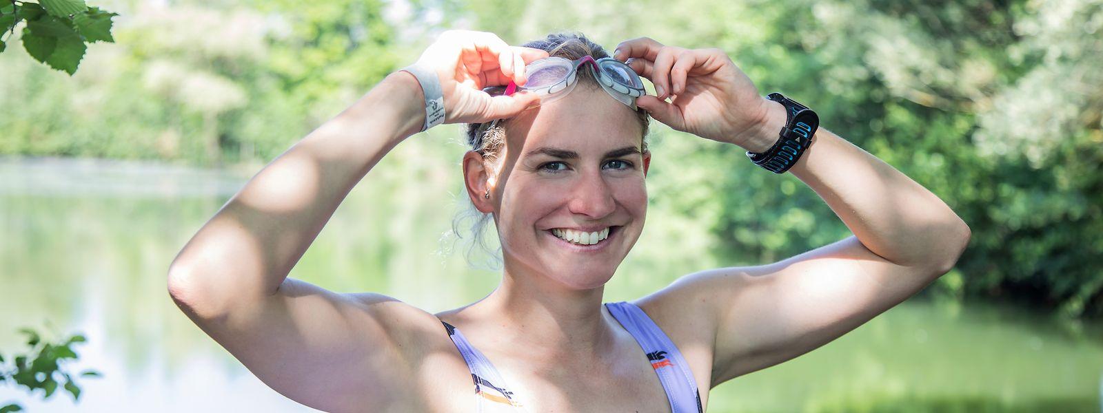 An Durchhaltevermögen fehlt es der Extremschwimmerin Paule Kremer definitiv nicht. Nach der Durchquerung des Ärmelkanals nimmt sie weitere sportliche Herausforderungen in Angriff.