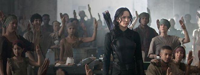 """""""The Hunger Games: Mockingjay"""" machte sie zur Wiederstandsikone: Katniss Everdeen."""