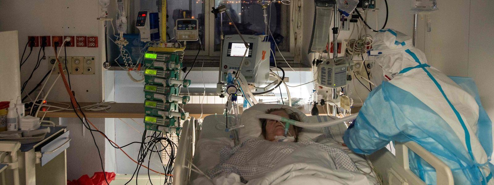 600 personnes infectées sont actuellement traitées pour infection covid en service de soins intensifs au Portugal.