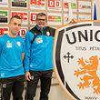 Baltemar Brito (r.) mit seinem Co-Trainer Antonio Torres.