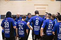 Nikola Malesevic (Trainer Duedelingen) / Handball, Coupe de Luxembourg, Viertelfinale, Red Boys - Duedelingen / 27.02.2021 / Niederkorn / Foto: Christian Kemp