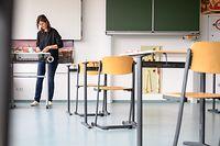 Die Lehrer sind verärgert, weil nicht auf sie gehört wird.