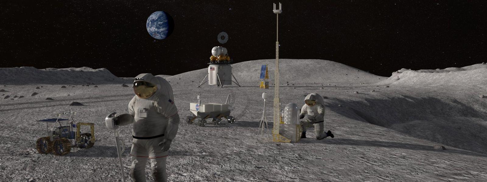 La Nasa considère le programme Artemis comme «le premier pas d'une nouvelle ère dans l'exploration spatiale»