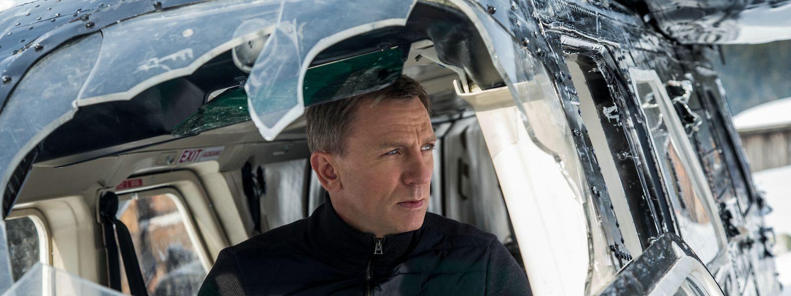 Des Kinozuschauers liebster Agent ist wieder zurück auf der Leinwand: Daniel Craig als James Bond.