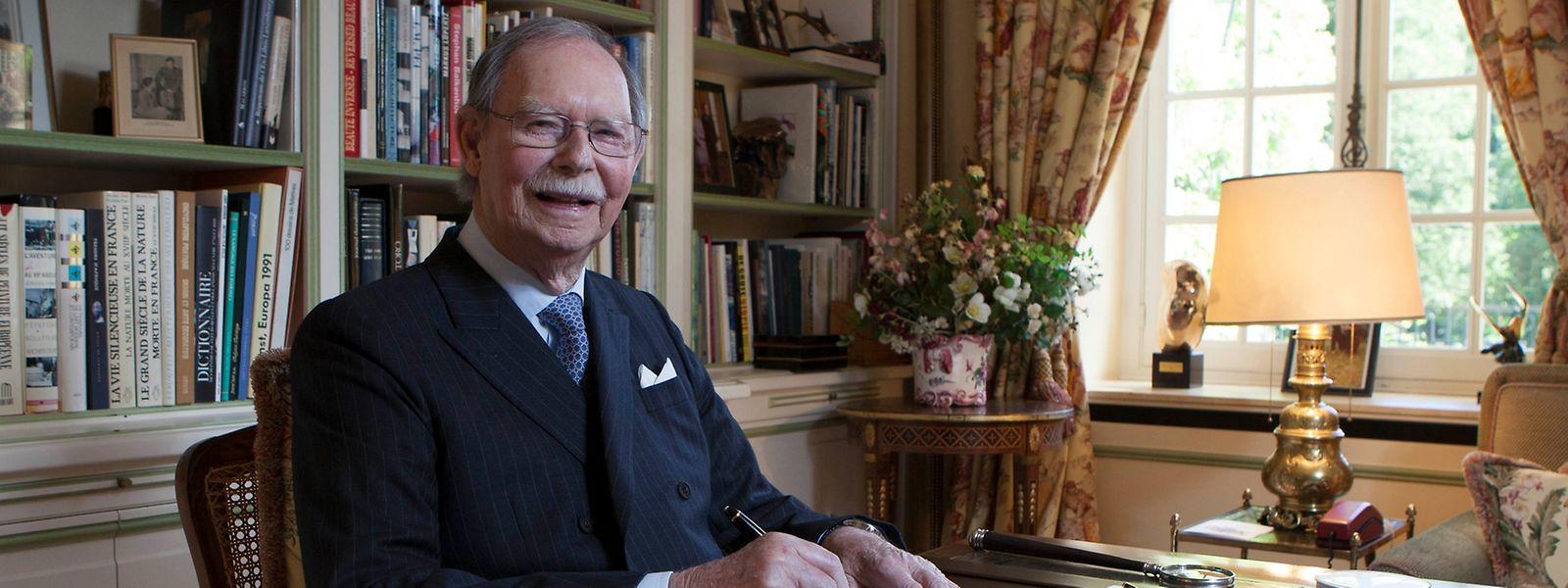 Grão-Duque Jean faz 96 anos esta quinta-feira