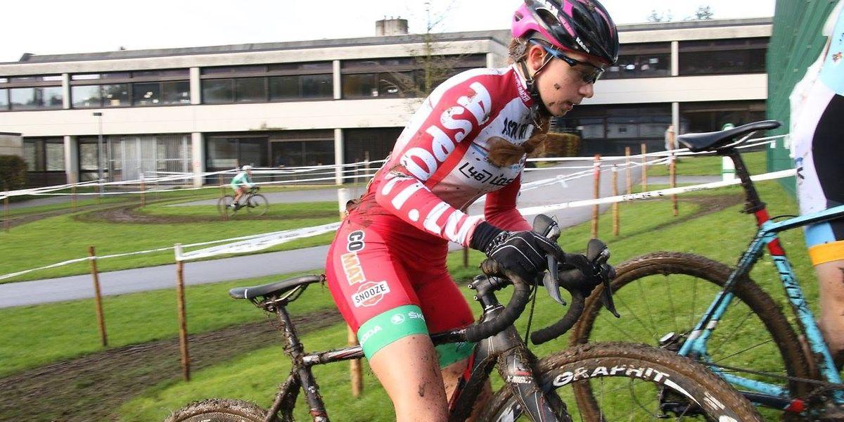 Après avoir remporté en janvier dernier le titre chez les débutants, Laetitia Maus ambitionne de s'imposer chez les Espoirs.