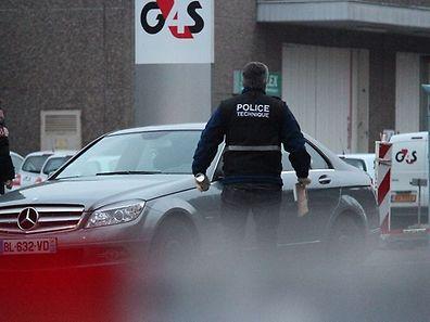 Le 3 avril 2013 au petit matin, 80 coups de feu ont été tirés en direction de policiers à Gasperich.