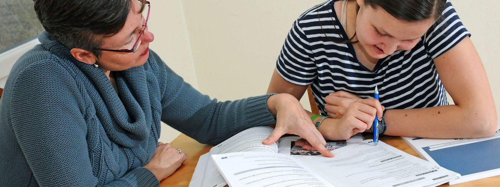 Le défi d'encadrement éducatif pour les parents est de taille