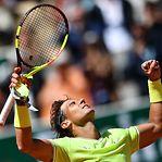 Nadal na 12.ª final de Roland Garros depois de vencer Federer