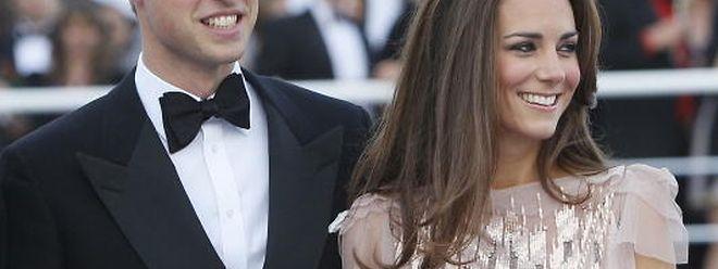 Stehen auf der Gästeliste von Guillaume und Stéphanie: Prinz William und seine Frau Kate aus England.
