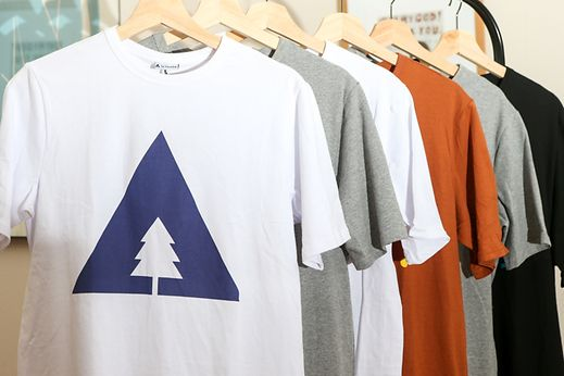 A selection of So Mountain shirts