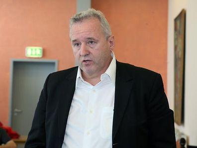 Dr. Romain Schockmel will den Luxemburger Handball nach vorne bringen.