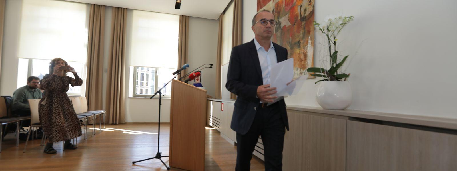 Roberto Traversini räumt seinen Stuhl als Bürgermeister von Differdingen.