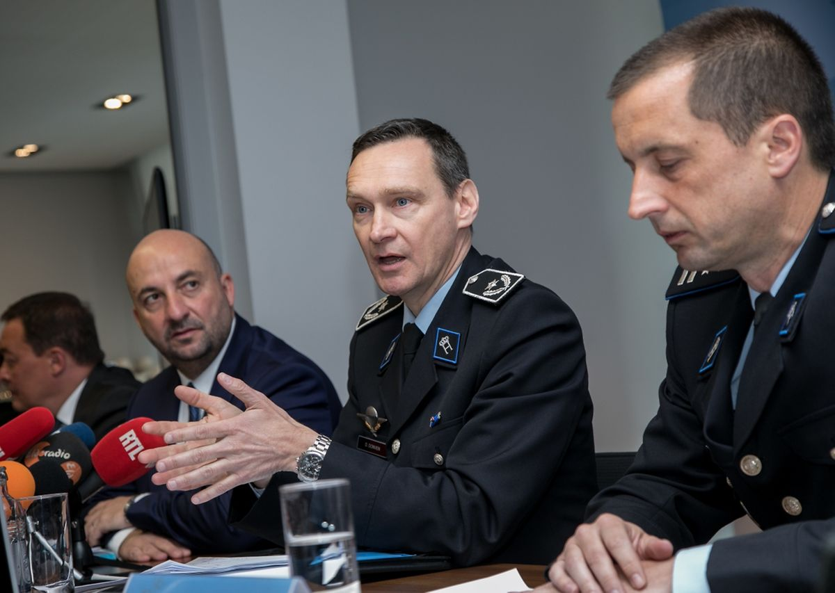 """""""Wir sind auf dem richtigen Weg"""", so Donat Donven, beigeordneter Generaldirektor der Police Grand-ducale."""