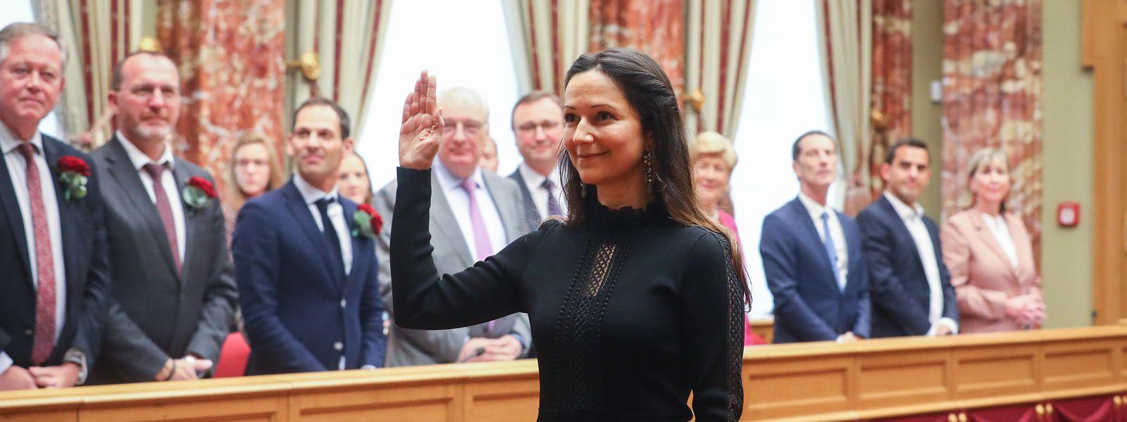 Das neue Gesicht am Krautmarkt: Die Grünen-Abgeordnete Semiray Ahmedova wurde im Oktober vereidigt.