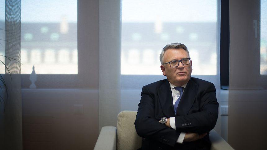 """""""Es wurde versucht, mich politisch kaputtzumachen"""": Nicolas Schmit blickt im Interview auch auf vergangene innenpolitische Kontroversen zurück."""