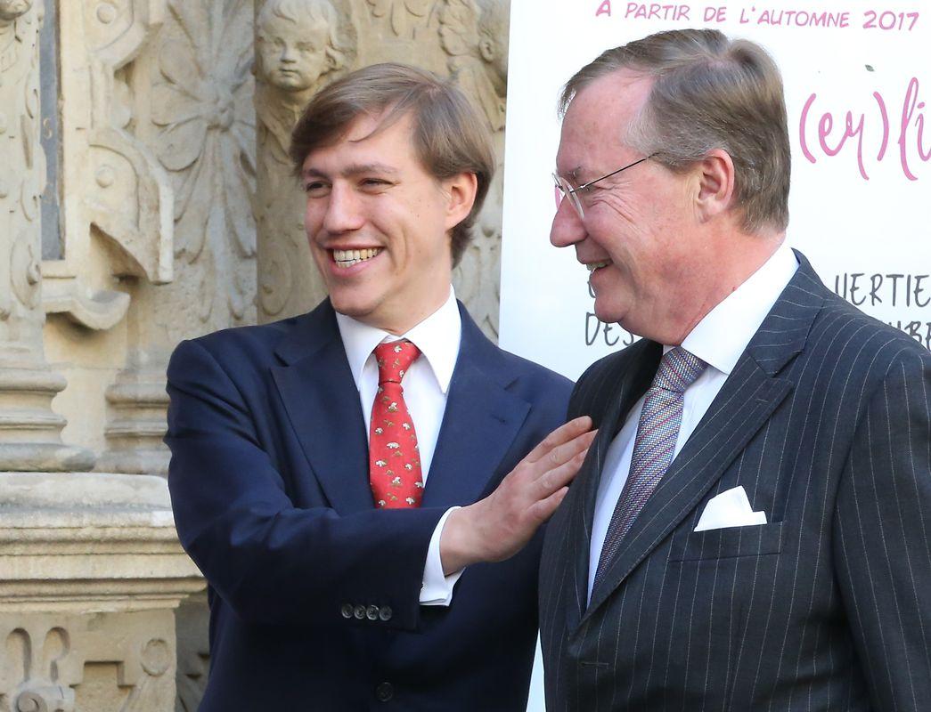 Prinz Louis, Prinz Jean, Vater der Braut.
