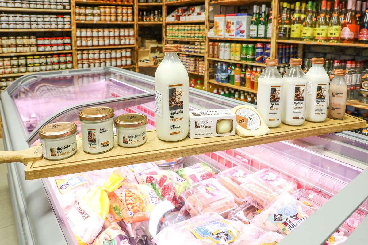 Products imported from Romania at Epicerie Fine Transilvania